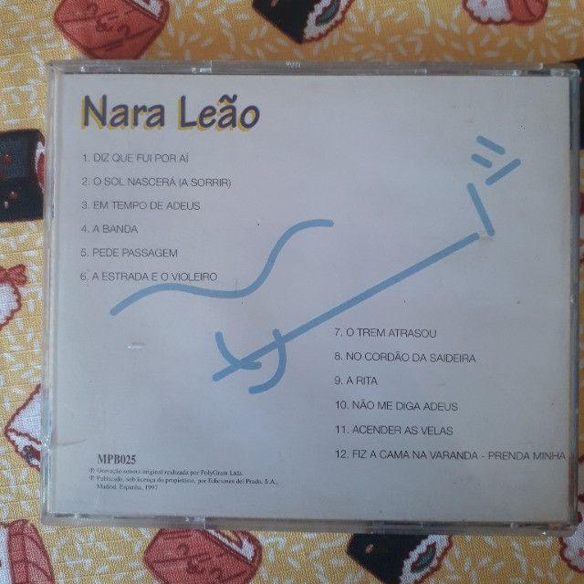CD Nara Leão - Os Grandes da MPB - Foto 3