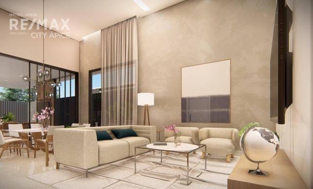 Casa com 3 suítes à venda, 211 m² por R$ 1.290.000 - Parque dos Novos Estados - Campo Gran - Foto 2
