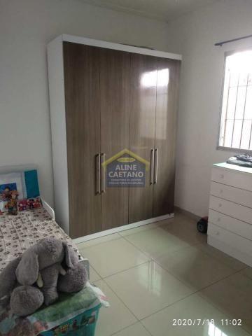 Casa à venda com 2 dormitórios em Tupi, Praia grande cod:AC763 - Foto 15