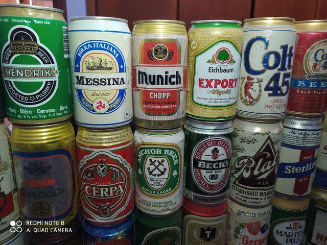 Coleção latas de cerveja antigas - Foto 4
