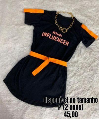 Vestido infantil mini fashion - Foto 2