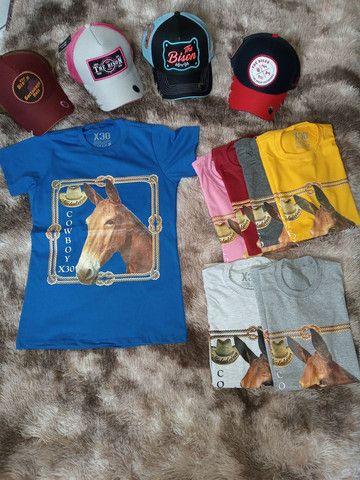 Camisetas Muladeiros Masculinos e Feminina  - Foto 3