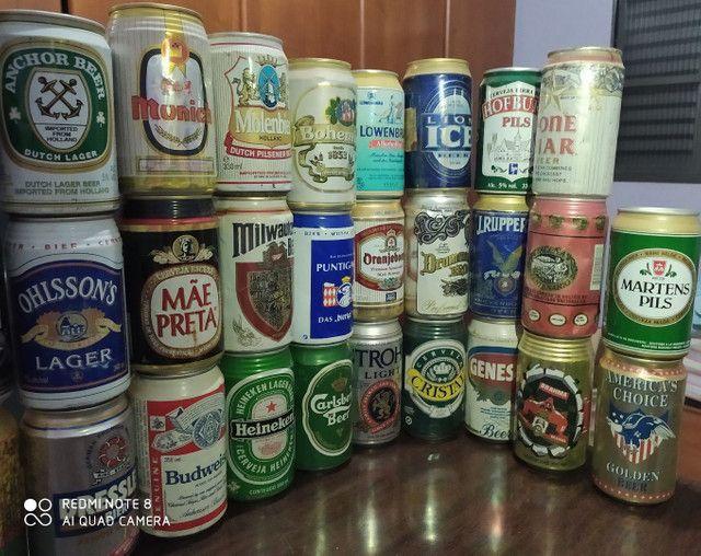 Coleção latas de cerveja antigas - Foto 6