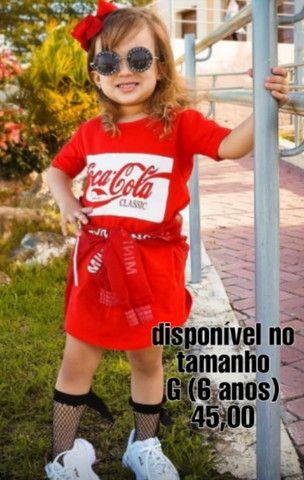 Vestido infantil mini fashion - Foto 4