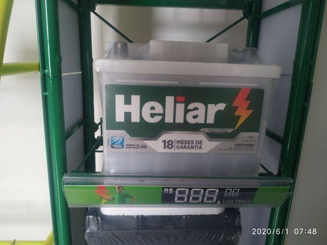 Bateria Heliar 60 a partir de R$330,00 a vista