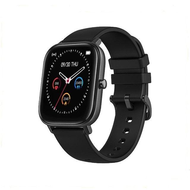 Relógio Smartwatch Colmi P8 esportivo fitness com frequência cardíaca/ tela touch IPX7 - Foto 6