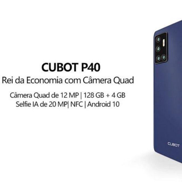 Smartphone Cubot P40 4GB + 128GB 6.2 Pol Nfc 4200mAh 4G Lte Cartão Dual Sim - Foto 4