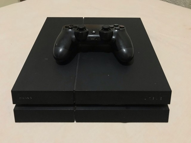 PS4 Preto Fosco Onyx 500GB (seminovo)  - Foto 2