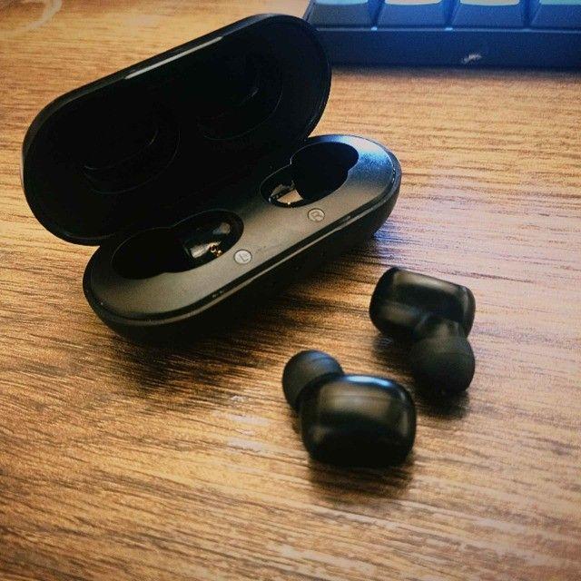Fone de ouvido Bluetooth 5.0 B5 Tws Com Microfone - Foto 2