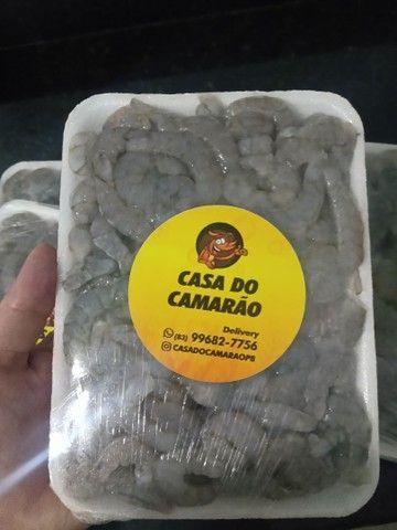 Camarão Descascado