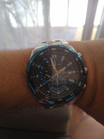 Relógio Casio EDIFICE modelo EFR 539 D usado - Foto 6