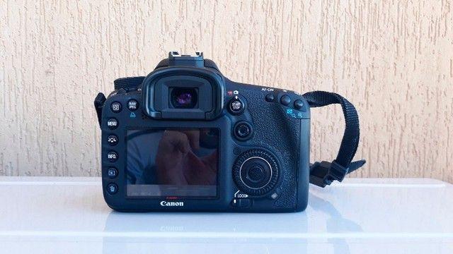 Canon Eos 7d Dslr Cor Preto - Foto 6