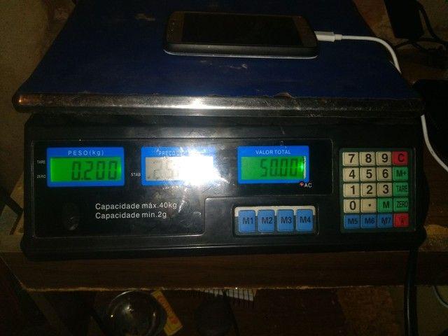 Balança de min. 2g Max. 40kg - Foto 2
