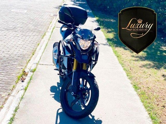 Motocicleta Bmw GS G310 2020 Preta com 600 KM - Foto 7