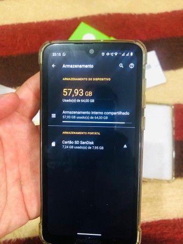 Motorola Moto G7 plus 64gb e 4gb de ram - Foto 2