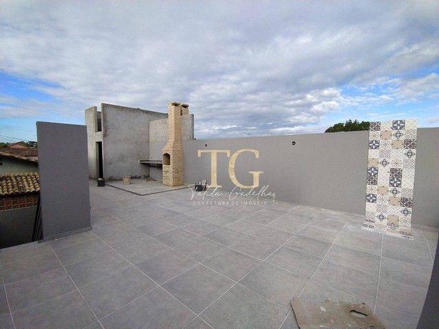Casas lineares 2 quartos terraço gourmet - Jardim Bela Vista - Rio das Ostras/RJ - Foto 2