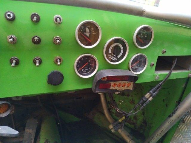 Fusca Baja 1973 motor AP 2.0 preparado gaiola autocross gurgel jeep - Foto 8