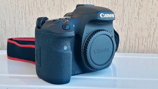 Canon Eos 7d Dslr Cor Preto - Foto 3