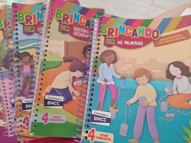 Livros do 4 ano da editora do Brasil