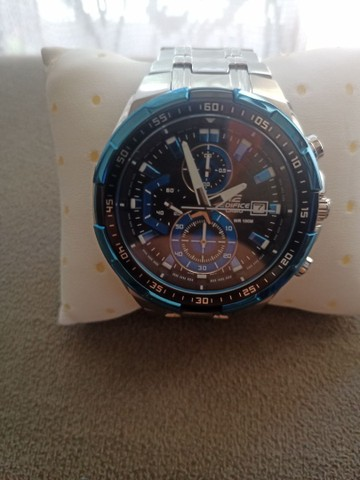 Relógio Casio EDIFICE modelo EFR 539 D usado - Foto 3