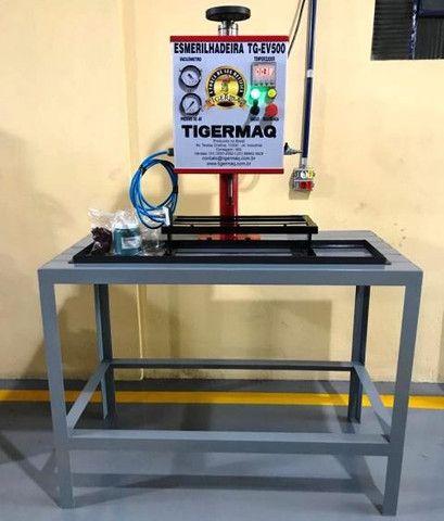 Esmeriladeira de válvula Automática com Vacuômetro - TG-EV500 - Foto 2