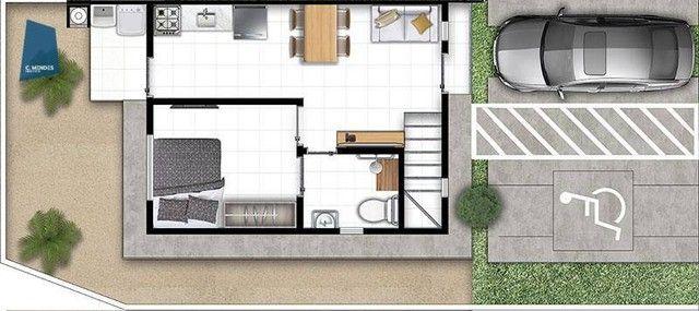 Apartamento Duplex com 3 dormitórios à venda, 66 m² por R$ 249.000,00 - Passaré - Fortalez - Foto 6