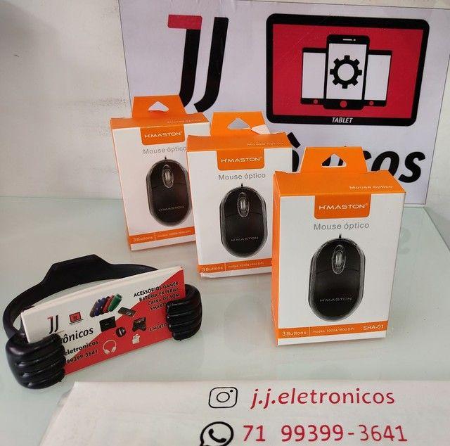 Mouse Óptico C/Fio
