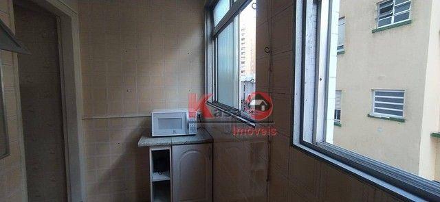 Apartamento com 2 dormitórios à venda, 71 m² por R$ 365.000,00 - José Menino - Santos/SP - Foto 13