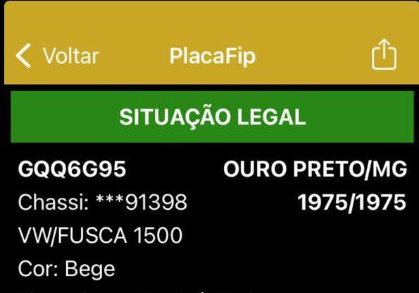 Fusca 75 1500 - Foto 10