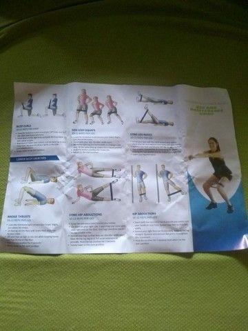 Vendo mini band ou elasticos de exercício  - Foto 3