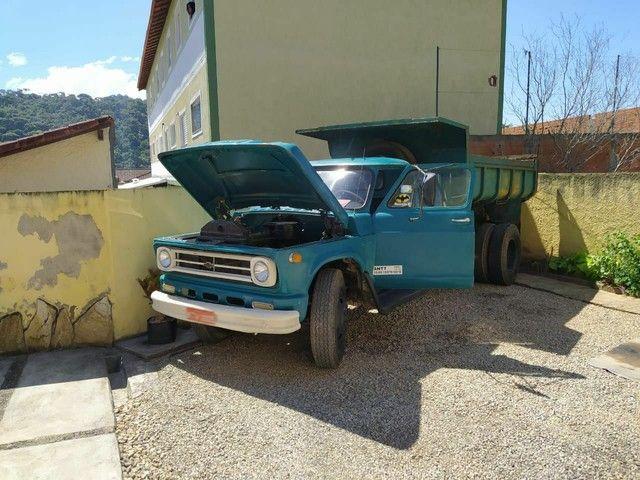 Caminhão Chevrolet c65 1967 motor 1113. - Foto 6