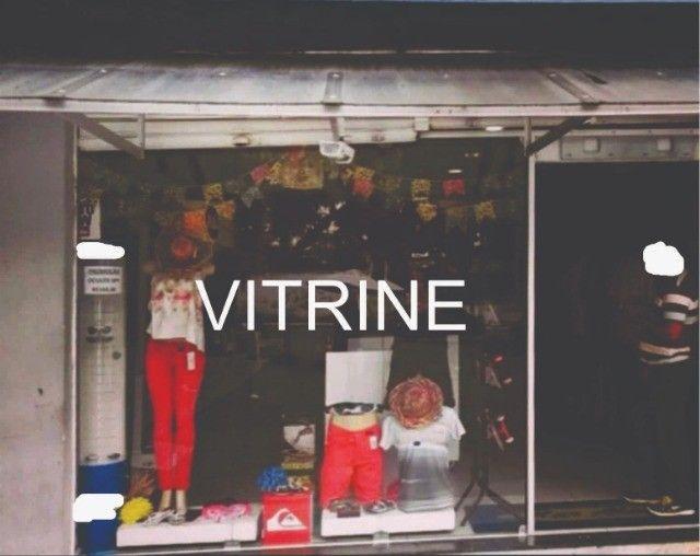 Vitrine completa, vidros temperados e estrutura - Foto 2