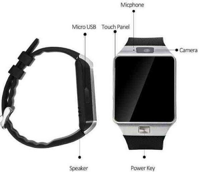 Relógio smartwatch dz09 - Foto 3