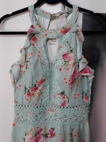 Vestido Novo Com Etiquetas,da Linny Fashion Tam.m Com Bojo. - Foto 3
