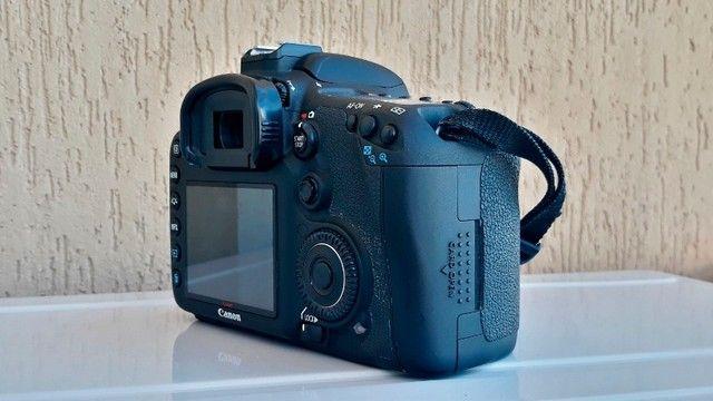 Canon Eos 7d Dslr Cor Preto - Foto 4