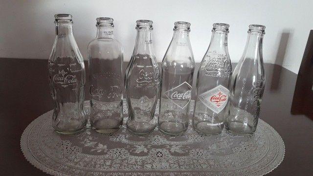 Garrafas antigas da Coca Cola  - Foto 2