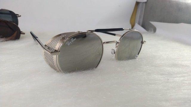 Oculos Alok Steampunk Masculino Retro Original  - Foto 2