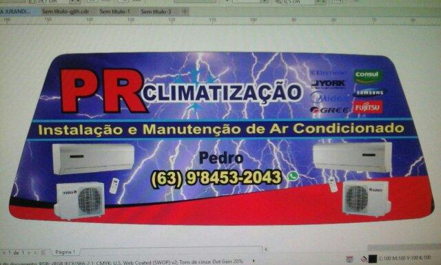 PR climatização. esta com promoção.