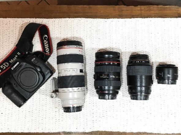 Kit fotografia profissional
