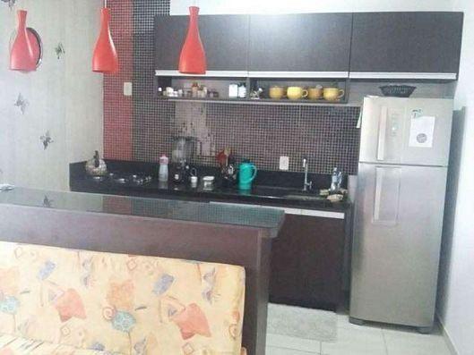 Lindo apartamento 1 quarto mobiliado em Camboriú - Santa Regina