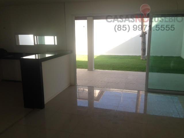Casa em condominio de 140 m, 3 suites, 2 vagas, nova com lazer, perto ce - Foto 5