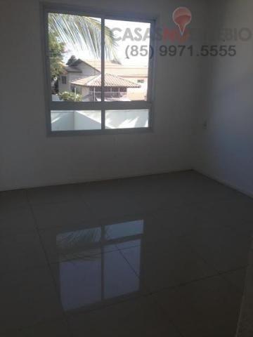 Casa em condominio de 140 m, 3 suites, 2 vagas, nova com lazer, perto ce - Foto 8