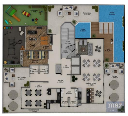 Apartamento à venda com 2 dormitórios em Fazenda, Itajaí cod:4621 - Foto 11