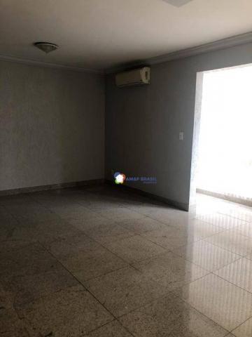 Apartamento com 3 dormitórios à venda, 126 m² por r$ 370.000 - setor bueno - goiânia/go - Foto 2