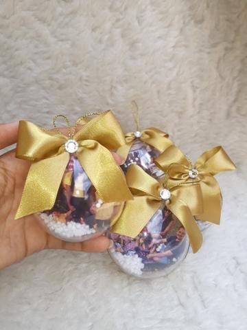Bola de natal personalizada - Foto 3