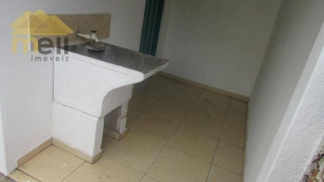 Edícula com 1 dormitório para alugar, 36 m² por R$ 550,00/mês - Vila Malaman - Presidente  - Foto 11