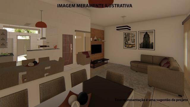 Residência de 70 m² c/ 2 quarto - Jardim Novo Bongiovani - Foto 16
