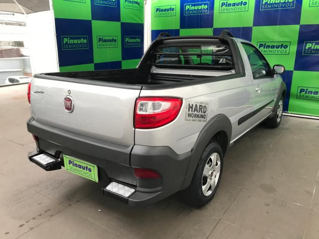 FIAT STRADA 1.4 MPI WORKING PLUS CS 8V FLEX 2P MANUAL - Foto 6