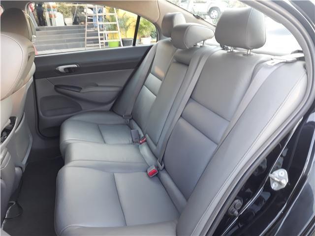 Honda Civic 1.8 lxl 16v flex 4p automático - Foto 10
