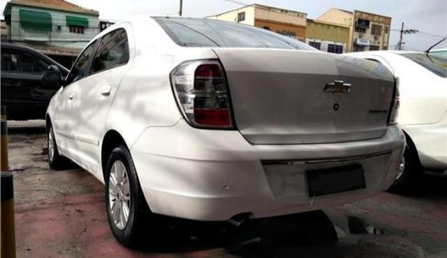 Chevrolet cobalt ltz 1.4 completo c/ multimídia _ mensais 559,99 - Foto 4
